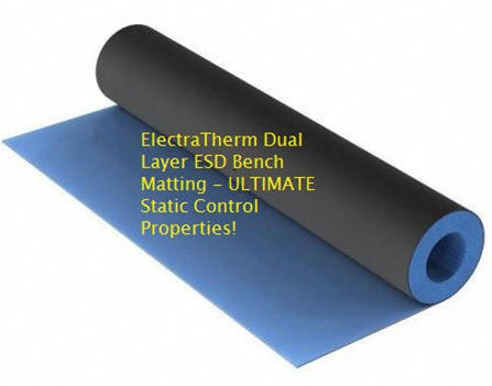 Heat Resistant Esd Mat For Bench Tops And Table Tops