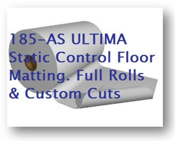 Static Dissipative ESD Floor Mat - up to 6 foot widths and 50 feet long