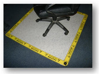 Mission Critical Esd Chair Mat For Static Control
