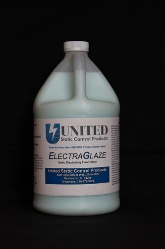 Anti Static Floor Wax : Electraglaze esd floor finish