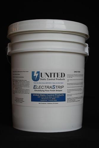 Anti Static Floor Wax : Electrastrip esd wax remover