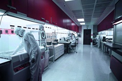 Forbo Colorex Installation, Boston Clean Room
