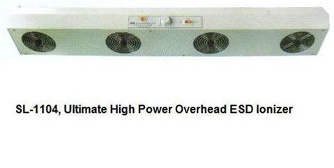 4 Fan Overhead Esd Ionizer For Static Control