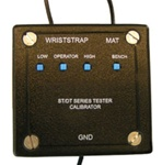 NIST Certified Test Box for ST and DT Series Constant Wrist Strap and ESD Mat Monitors