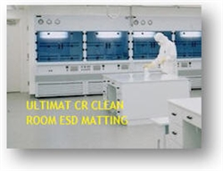 Static Solutions CR White ESD Clean Room Bench Matting