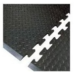 Interlocking Anti Fatigue Statc Control Floor Mat, build to ANY length!
