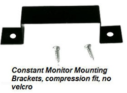 Metal Mounting Bracket for the ST or DT 030 series esd constant monitors