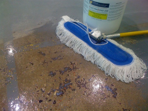 High Speed Floor Wax Applicator