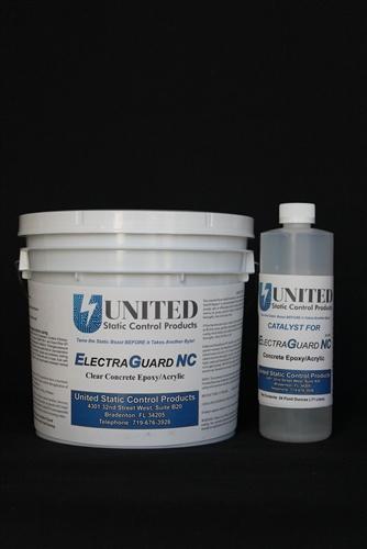 Non Conductive Epoxy : Epoxy floor paint non conductive not for static control