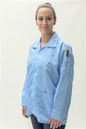 Esd Smock Provides Advanced Conductivity And Ultimate