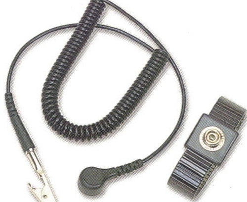 Metal Band Esd Wrist Strap And Ground Cord