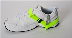 High Visibility, Quick Release Yellow Heel Grounders