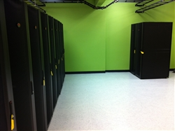 Titanium Sheet Vinyl Installation in Server Room
