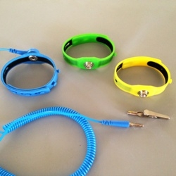 Gel Style ESD Wrist Strap With Cord
